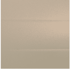 beige garage door colour
