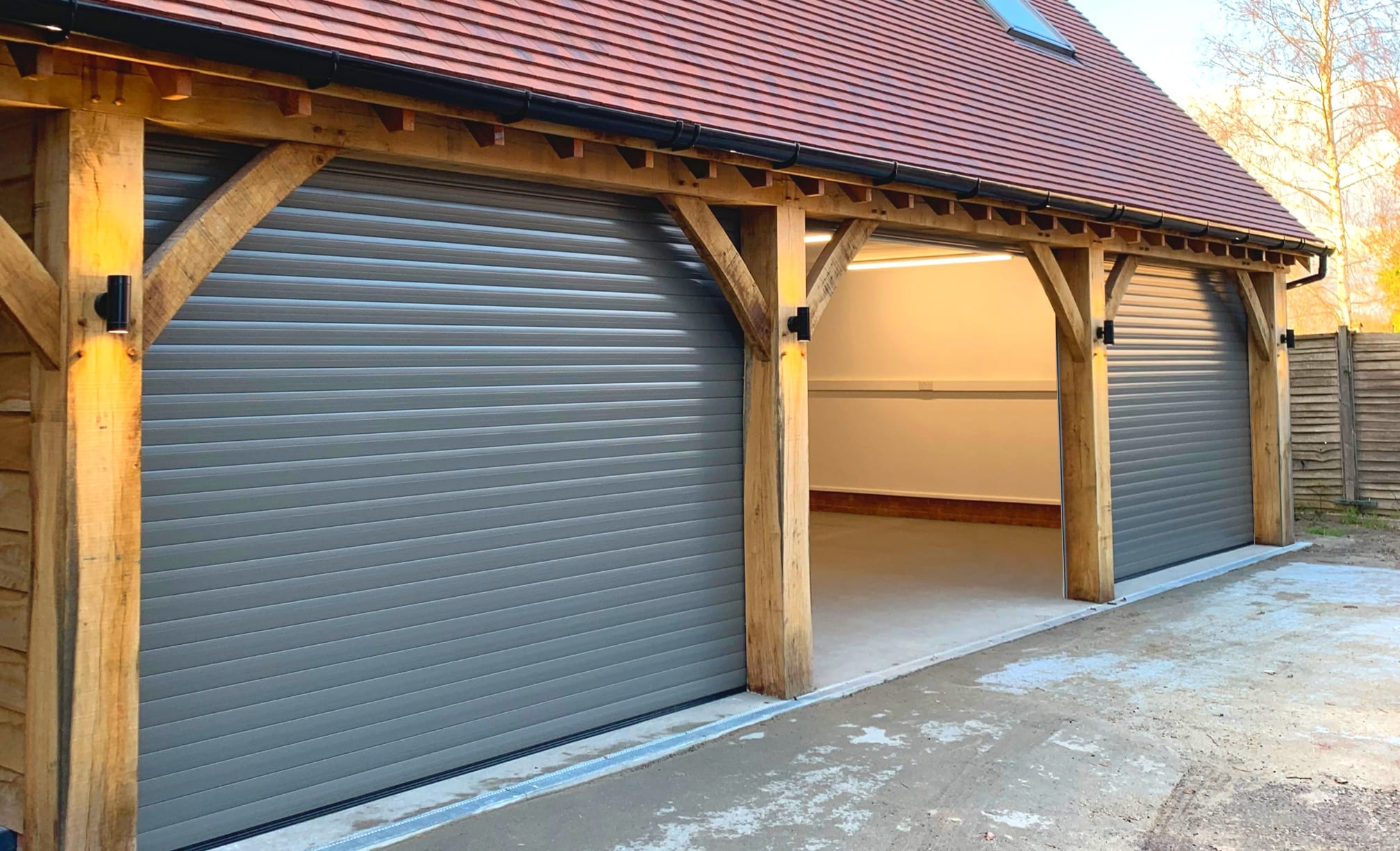garage doors newly installed